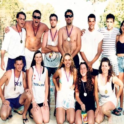 O Camping da Vindima fechou o ano de 1996 com o campeonato de vôlei de areia de duplas. No masculino, a dupla Allan e César Conz conquistou o campeonato. Já no feminino, a dupla Maria e Andréia ficou com o primeiro lugar.