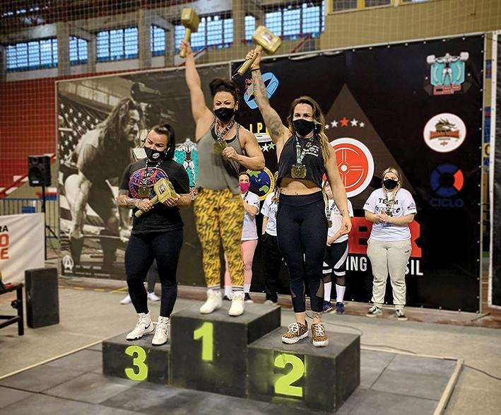 Atleta florense conquistou o 1º lugar na categoria Open (70 - 75kg) peso corporal, do Levantamento de Peso Terra