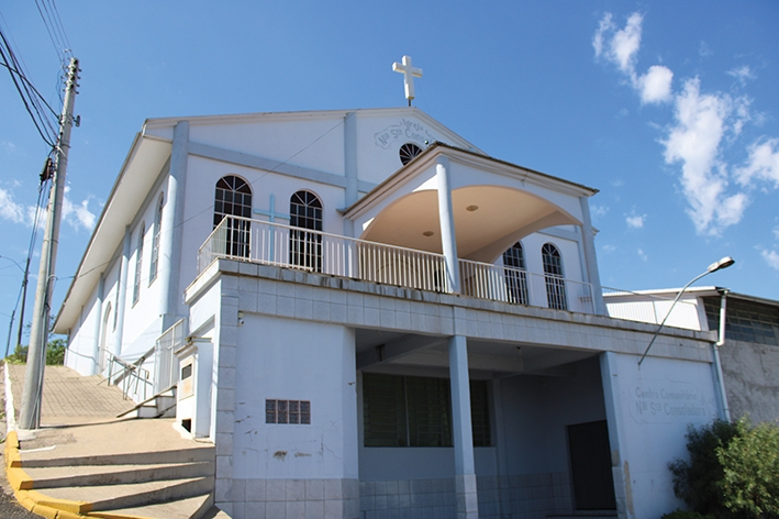 Em 2012, a igreja do bairro foi inaugurada.  - Gabriela Fiorio