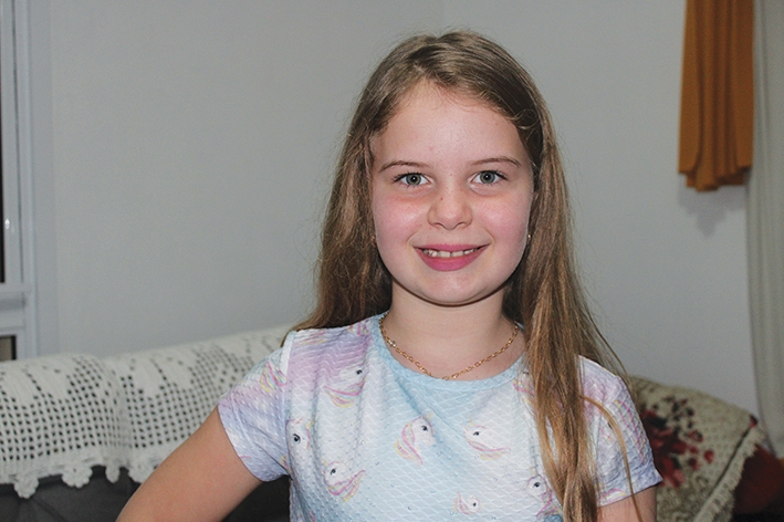 Valeska será coroada Miss Itália Brasil Infantil.