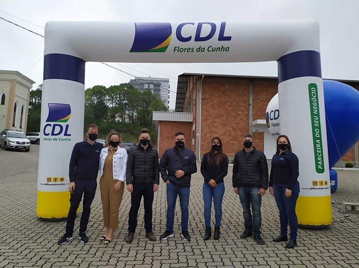 Equipe da CDL.