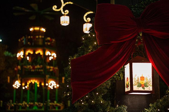 Decoração natalina é ponto alto do Natal no Jardim da Serra Gaúcha 2020.